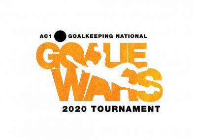 Goalie Wars logo on white background